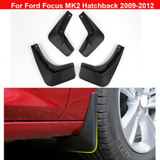 4pcs Plastic Tire Splash Guards Mud Flaps For Ford Focus MK2 Hatchback 2008-2011