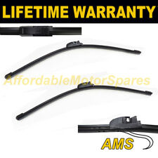 "DIRECT FIT FRONT AERO WIPER BLADES PAIR 26"" + 26"" FOR SEAT ALTEA XL 2006 ON"