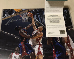 🇨🇳 16x20 Yao Ming UDA HOLOGRAM Only 50  Made 🚀 Upper Deck Authentic SP Auto