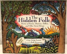 *SIGNED* The Hidden Folk : Stories of Fairies, Dwarves, Selkies, and... FREE S&H