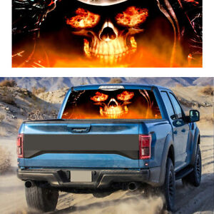 Skull Hood Decal Large Graphic Sticker Car Truck Trailer Boat Vinyl Decoration