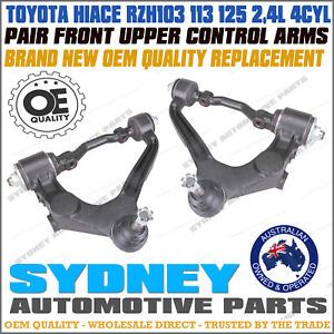 LEFT & RIGHT Front Upper Control Arms fits Toyota Hiace RZH103 RZH113 RZH125 L&R