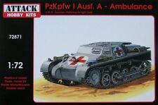 ATTACCO 1/72 PZ. KPFW. i Ausf. una Ambulanza # 72871
