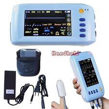 Handheld 5-Parameter Vital sign Patient Monitor ECG EKG NIBP Spo2 PR Print USB
