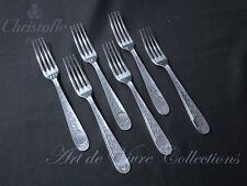 Christofle VILLEROY 6 Dinner Forks, Fourchettes de Table 20.5cm