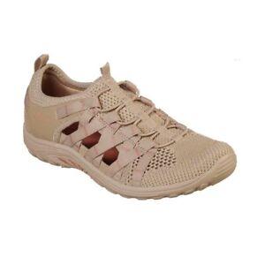 NWT Women's Taupe SKECHERS Luxe Foam Reggae Fest Shoes 7.5