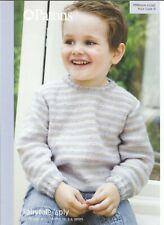 Doble Tejer patrón para Bebé//Niño Cardigan y tamaños de puente 20-24in