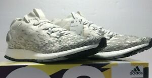 Adidas Mens Size 12 PureBOOST RBL Running Training White Grey Shoes F355784