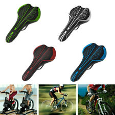Comfort Saddle Bicycle Seat For MTB Road Bike Cycling Soft Leather Cushion Pad