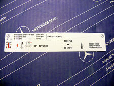 Original Mercedes Motor-Aufkleber M119 für W124 R129 W140 400 420 500 E S SL CL