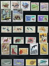 Romania-  Birds, Fish & Animals on Stamps........A 8D05