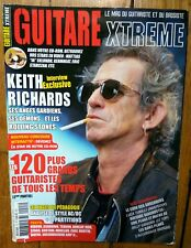 GUITAR KEITH RICHARDS ROLLING STONES DEFTONES FOREIGNER ZZ TOP BILL PERRY