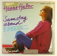 """7"""" Single - Hanne Haller - Samstag Abend / Vollmond - S2307 - cleaned"""