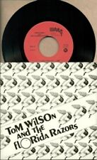 "Tom Wilson ( Junkhouse ) And The Florida Razors  RARE OOP ORIG Canadian 7"" NM EP"