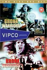 1 & 2 DVD R2 Two Disc Box Set VIPCO BRONX WARRIORS & ESCAPE FROM THE Henry Silva