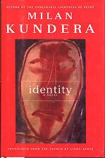Identity by Milan Kundera-First Edition/DJ-1998