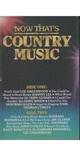Now That's Country Music Vol 1 ~ Various Artists ~ Cassette ~ Good