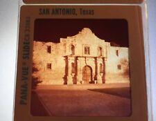 Pana-Vue San Antonio Texas Travel Slides Alamo River Parade La Villita Street