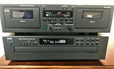 Nad 616 Dual Cassette Deck and Nad523 5-Disc Cd Player