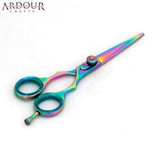 "5.5"" Professional Barber Razor Edge Hair Cutting Shears Scissors Multi Color"