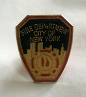Vintage NYFD Fire Department Lapel Tie Hat Pin New York City