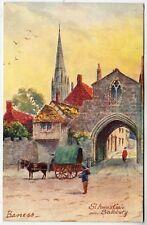 SALISBURY - Barness - St Anne's Gate - Ruddock / Lincoln - c1900s era postcard