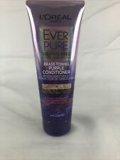 L'Oreal Paris Hair Care EverPure Sulfate Free Brass Toning Purple Conditioner(2d