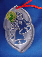Waterford Songs Of Christmas Silver Bells Ornament 2003