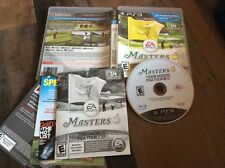 Tiger Woods PGA Tour 12: The Masters (Sony PlayStation 3, 2011) Used free US S/H