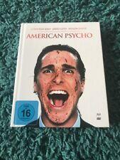 American Psycho Blu Ray Mediabook Christian Bale Horror Gore Cult