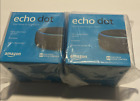 Amazon Echo Dot (3rd Generation) Smart Speaker - Charcoal  Lot of 2 - FREE SHIP