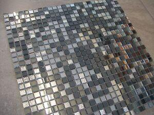 Disco Mix Mirror & Glass Mosaic Tile Sheets (30cm x 30cm)