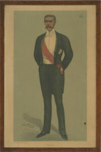 Sir Leslie Ward (1851-1922) - 1899 Lithograph, Lord Horatio Herbert Kitchener