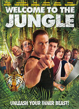 Welcome to the Jungle (DVD, 2014 W/Jean-Claude Van Damme)NEW/sealed w/slipcover