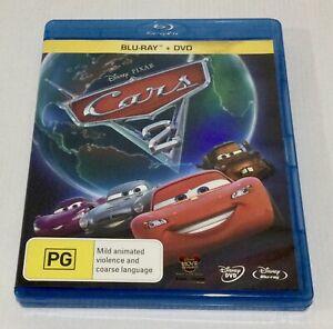 Cars 2 Blu-ray + DVD 2 Disc Set
