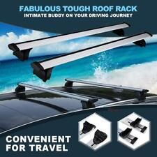 Aluminum Roof Rack Cross Bar Top Flush Rail Carrier For Audi Q7 Q3 Q5 BMW X1 X5