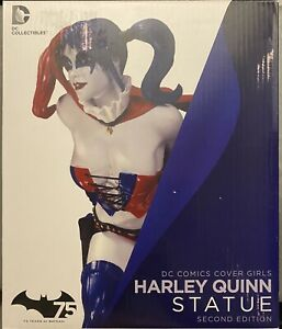 DC Collectibles NEW Comics Cover Girls Harley Quinn! Statue Starfire