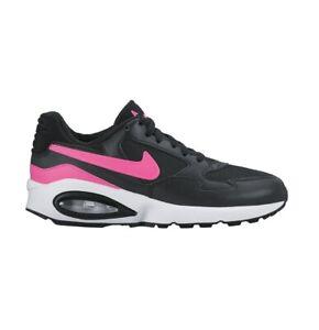 NIke Air Max ST Mesh Boys Girls Trainer Running Shoe Size 5 Black Pink RRP £70/-