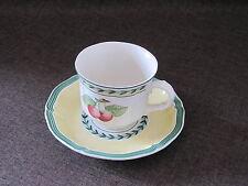 V&B   FRENCH GARDEN  Kaffeetasse 2-tlg. unbenutzt mehr verf.  VILLEROY&BOCH