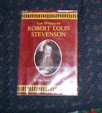 Last Witness for Robert Louis Stevenson by Elsie Caldwell 1960 Hardcover ex-lib