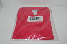 Blair Criss Cross Knit Top Size Large Pink/Coral