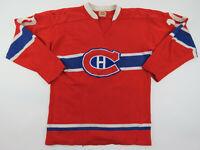 Vintage 70s Guy Lafleur Montreal Canadiens NHL Hockey Jersey Durene GCK Canada L