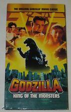 Godzilla King Of The Monsters (VHS, 2002) NTSC (Raymond Burr)