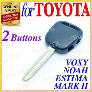 For Toyota Remote Key shell Estima, Mark II, Voxy, Noah, Yaris, Echo Two Button