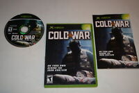 Cold War Microsoft Xbox Video Game Complete