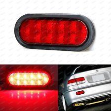 JDM Style Red Lens 10-LED Rear Fog Light Kit For Acura Honda Nissan Mazda Subaru