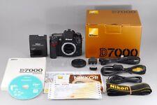 =MINT- in BOX= Nikon D7000 16.2 Digital SLR Camera Body Full Set from Japan #o22