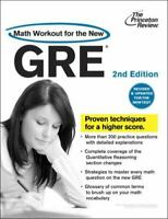 Math Workout for the New GRE, 2nd Edition (Graduate School Test Preparation) by