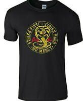 Cobra Kai T-shirt Karate Kid Tv Series 80s Martial Arts Unisex Kids Men T-shirt.