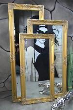 Wandspiegel Badspiegel Spiegel barock antik Gold Landhaus Rokoko 140 x 50 cm u.a